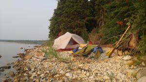 Campsites are Slim Pickings