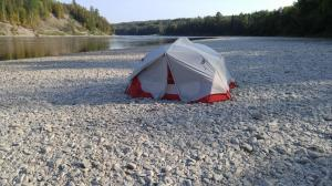 Camp Site South of Hydro-Electric Dam