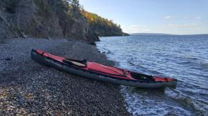 Rugged Coastline Rest Stop