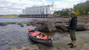 One of 7 Hydro Electric Dams to Portage Around