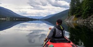 Calm Waters is a Paddlers Dream