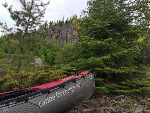 Typical Canadian Shield Campsite