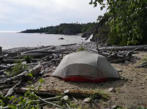 Driftwood Beach Camping