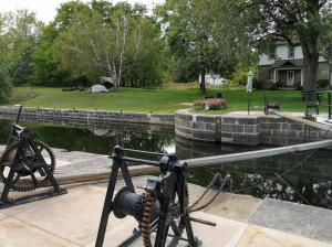 One of 25 Lock Stations on Historic Rideau Canal.
