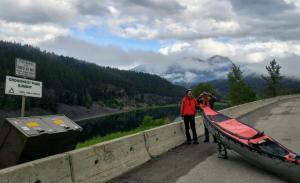 Canoe Carting over the Rocky Mountains